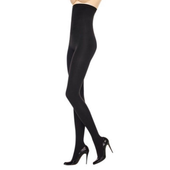 SPANX Accessories - Spanx High Waisted Reversible Tights Bk/Bt